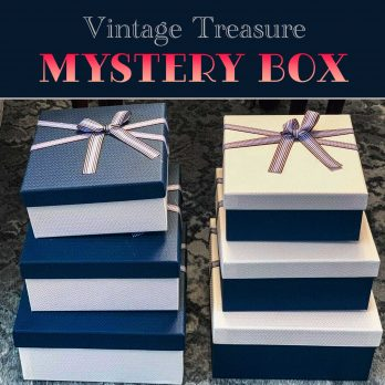 Mystery Box of Vintage Gifts, Send Yourself a Christmas Present